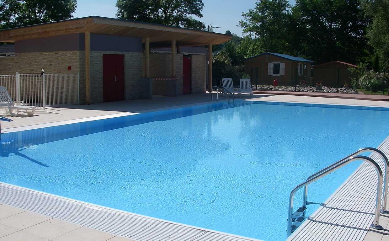 Camping avec piscine chauffée en Franche-Comté