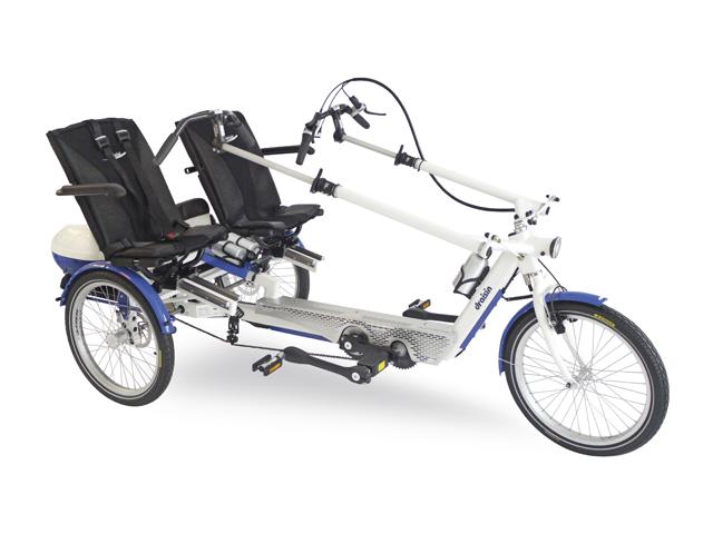 Le camping de Belfort loue des vélos Twister adaptés au handicap