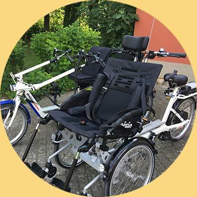 Louer un vélo adapté aux personnes handicapées