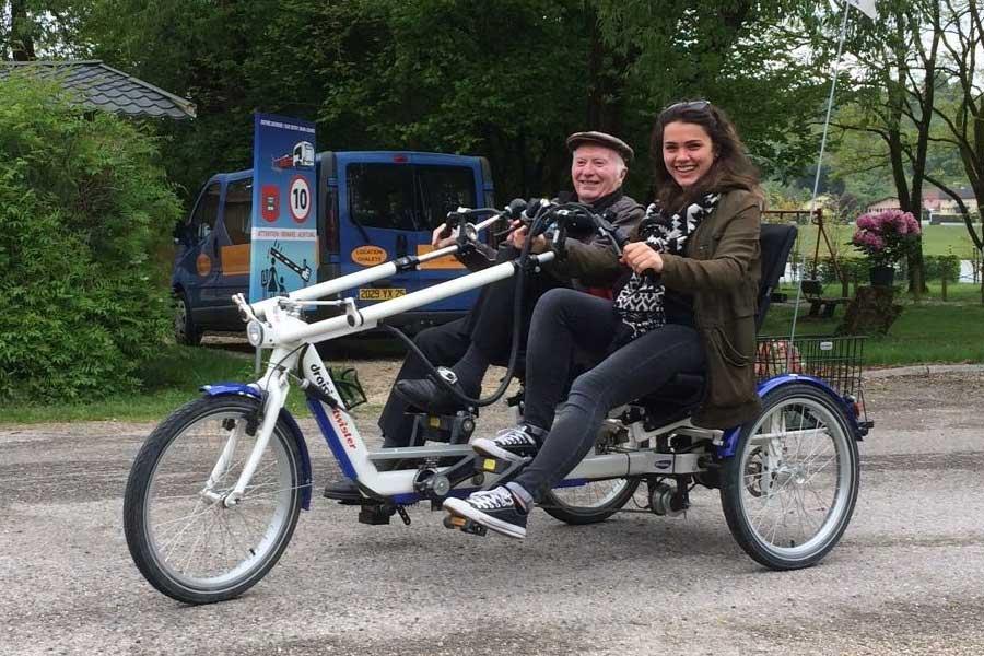Location de vélos pour personnes à mobilité réduite