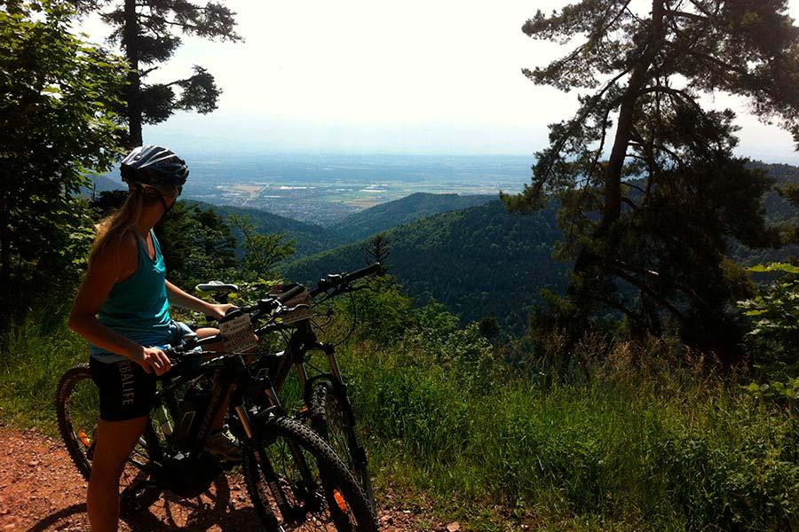 Randonnée cyclotouriste à Belfort en Franche-Comté