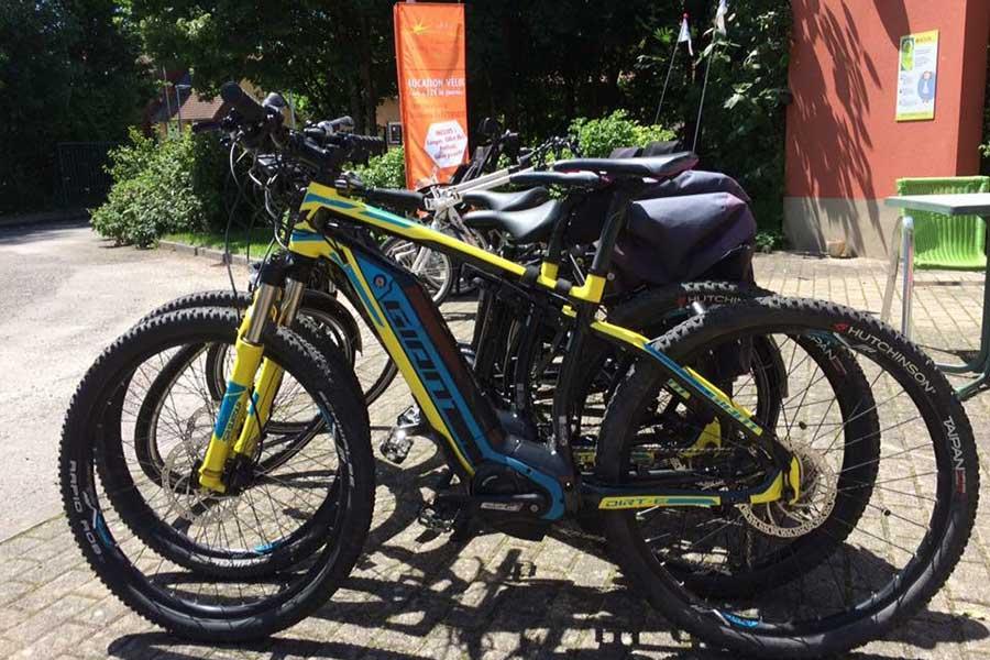Tarif de location des vélos électriques