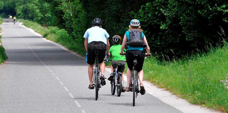 rouler en famille en toute sécurité sur les véloroutes du Territoire de Belfort