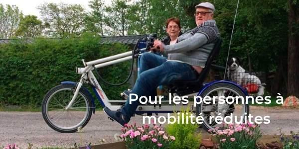 louer vos vélos électriques pour personnes mobilité réduite